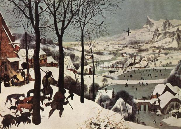 cazadores-en-la-nieve