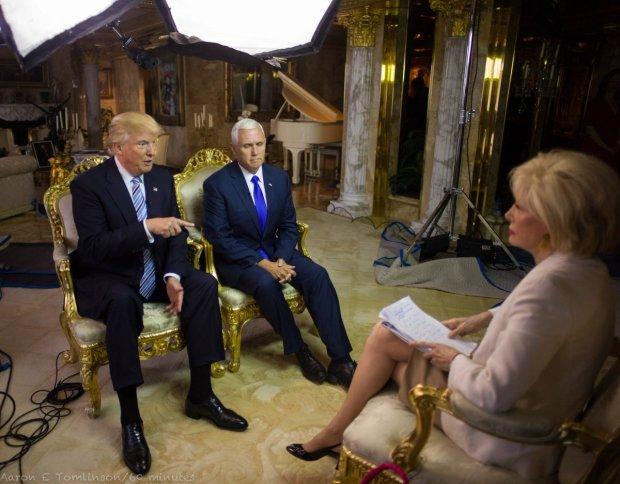 Trump en 60 minutos con vice